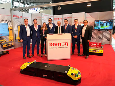 Kivnon at LogiMAT and SITL, the two leading trade fairs in Europe for the logistics field