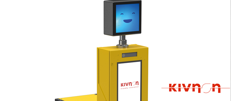 Kivnon develops first AGV (Automated Guided Vehicle) in the world that operates on artificial vision